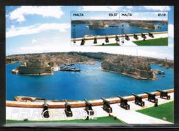 CEPT 2012 MT MI 1712-13 MALTA POST CARD - Europa-CEPT