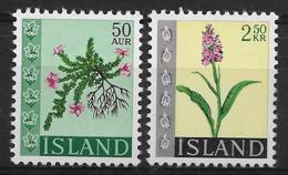 ISLAND 1968 FLOWERS MNH - Altri