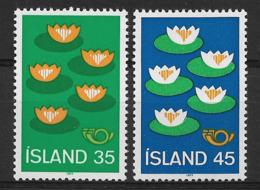 ISLAND 1977 FLOWERS MNH - Altri