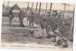 DOUANE FRANCAISE: Le Rendez-vous - Désignation Des Embuscades (Chiens) - Dogana