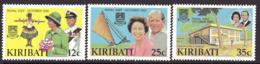 Kiribati 1982 Royal Visit Set Of 3, MNH, SG 193/5 (BP2) - Kiribati (1979-...)