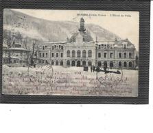 39-MOREZ-JURA-Une Vue Animée De L'Hôtel-de-Ville Sous La Neige En 1911 - Morez