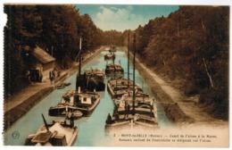 Mont De Billy, Canal De L'Aisne A La Marne, Péniches (pk63212) - Autres Communes