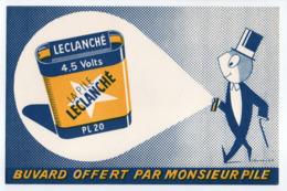 - BUVARD LA PILE LECLANCHÉ - - Piles