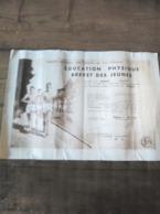 54 LONGUYON  SNCF Brevet Des Jeunes  Education Physique  1952 - Diplomas Y Calificaciones Escolares