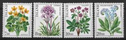ISLAND 1983 FLOWERS  MNH - Altri