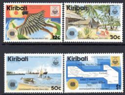 Kiribati 1983 Commonwealth Day Set Of 4, MNH, SG 197/200 (BP2) - Kiribati (1979-...)