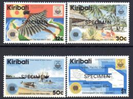Kiribati 1983 Commonwealth Day Set Of 4 Overprinted SPECIMEN, MNH, SG 197/200 (BP2) - Kiribati (1979-...)