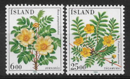 ISLAND 1984 FLOWERS  MNH - Altri