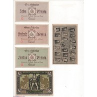 NOTGELD  THALE - 5 Different Notes (T013) - Unclassified