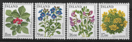 ISLAND 1985 FLOWERS  MNH - Altri