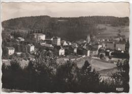 LA LOUVESC VUE DU CENTRE 1958 - La Louvesc