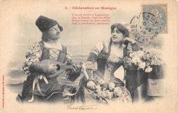 PIE-Z AR-19-1425 : EDITION BERGERET EDITEUR A NANCY. DECLARATION EN MUSIQUE. - Ansichtskarten