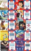 LOTTO 38 DI N° 10 SCHEDE PREPAGATE & RICARICHE VARIE TIM - GSM-Kaarten, Aanvulling & Voorafbetaald