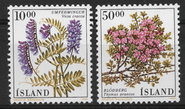 ISLAND 1988 FLOWERS  MNH - Altri