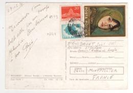 Beaux Timbres , Stamps   Yvert N° 2579 , 2640 , 2885 ( Tableau  ) Sur Cp , Carte , Postcard Du 07/05/1979 - Cartas