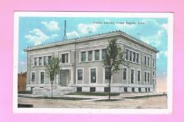 U.S.A. IOWA. CEDAR RAPIDS. PUBLIC LIBRARY. - Cedar Rapids