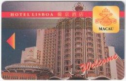 MACAO A-159 Hotelcard - Hotel Lisboa - Used - Chiavi Elettroniche Di Alberghi