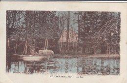 83-----RARE---SAINT-ZACHARIE---le Lac--voir 2 Scans - Saint-Zacharie