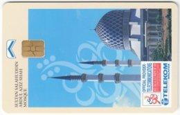 MALAYSIA A-625 Chip Telekom - Religion, Mosque - Used - Malaysia