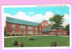 U.S.A. IOWA. CEDAR RAPIDS. COUNTRY CLUB. - Cedar Rapids