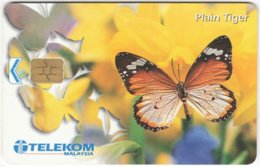 MALAYSIA A-634 Chip Telekom - Animal, Butterfly - Used - Malaysia