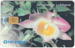 MALAYSIA A-638 Chip Telekom - Plant, Flower - Used - Malaysia