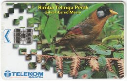 MALAYSIA A-641 Chip Telekom - Animal, Bird - Used - Malaysia