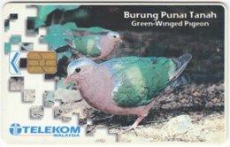 MALAYSIA A-642 Chip Telekom - Animal, Bird - Used - Malaysia