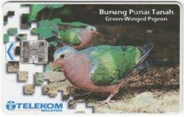 MALAYSIA A-643 Chip Telekom - Animal, Bird - Used - Malaysia