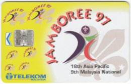 MALAYSIA A-648 Chip Telekom - Used - Malaysia