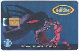 MALAYSIA A-652 Chip Telekom - Cinema, Walt Disney, Hercules - Used - Malaysia