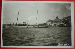 CROATIA - HRVATSKA , SIBENIK JACHT ISTRANKA EX. VILA , EX. DALMAT - Croatie
