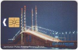 MALAYSIA A-668 Chip Kadfon - Traffic, Bridge - Used - Malaysia
