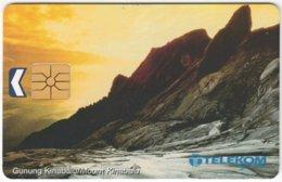 MALAYSIA A-669 Chip Kadfon - Landscape, Mountain - Used - Malaysia