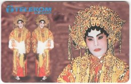 MALAYSIA A-674 Chip Telekom - Culture, Traditional Dancer - Used - Malaysia