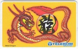 MALAYSIA A-680 Chip Telekom - Cartoon, Drake - Used - Malaysia