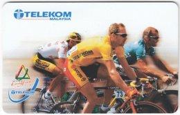 MALAYSIA A-681 Chip Telekom - Sport, Cycling - Used - Malaysia