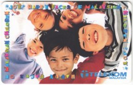 MALAYSIA A-683 Chip Telekom - People, Children - Used - Malaysia