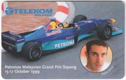 MALAYSIA A-687 Chip Telekom - Sport, Motor Race, Formula One - Used - Malaysia