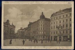 BRNO, BRÜNN, Svobody Namesti, Pohled Do Masarykova Trida, Gelaufen Um 1920, Sehr Guter Zustand - Tschechische Republik