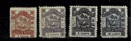 Bornéo Du Nord,  TP N° 36, 37, 39 Et 42 - Nordborneo (...-1963)