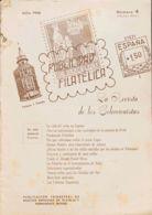 España. Bibliografía. (1946ca). Conjunto De Doce Revistas PUBLICIDAD FILATELICA Editadas Entre Julio De 1946 Y Septiembr - Sellos