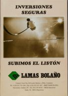 España. Bibliografía. 2000. INVERSIONES SEGURAS. Lamas Bolaño. Barcelona, 2000. (incluye Precioso Estudio Del único Plie - Sellos