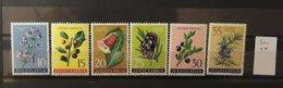11 - 19 //   Yougoslavie - Série Fleurs - Tous **  - MNH - 1945-1992 République Fédérative Populaire De Yougoslavie