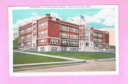 U.S.A. IOWA. CEDAR RAPIDS. ROOSEVELT JUNIOR HIGH SCHOOL. - Cedar Rapids