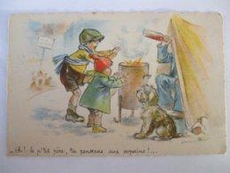 """SDV1019- GERMAINE BOURET -- """" EH! LE P'TIT PERE, TU PENSERAS AUX COPAINS """"- - Bouret, Germaine"""