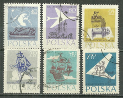 POLAND Oblitéré 921A-922A Anniversaire De La Poste Polonaise - 1944-.... Republik