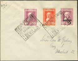 España. Alfonso XIII Correo Certificado. Alfonso XIII Correo Certificado. Al Dorso Llegada. - 1889-1931 Reino: Alfonso XIII