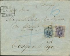 España. Alfonso XIII Correo Certificado. Alfonso XIII Correo Certificado. CERTIFICADO / MERIDA. MAGNIFICA. - 1889-1931 Reino: Alfonso XIII